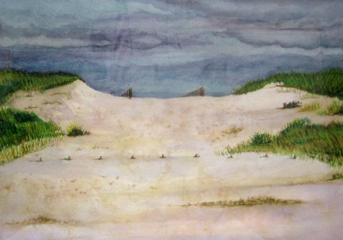 Impending Storm, Truro Beach web